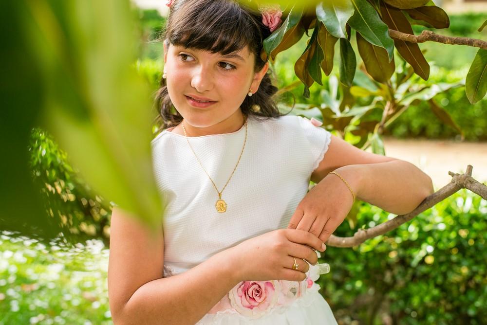 Reportaje de comunión de Natalia