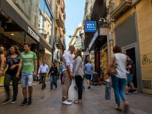 Reportaje Preboda urbano en Lleida de Jose y Noemí